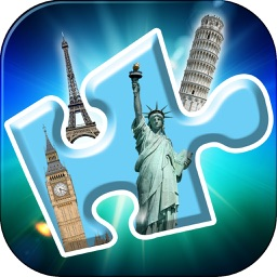 World Wonders Jigsaw Puzzles HD - Famous Landmarks Brain Games for Kids and Adults