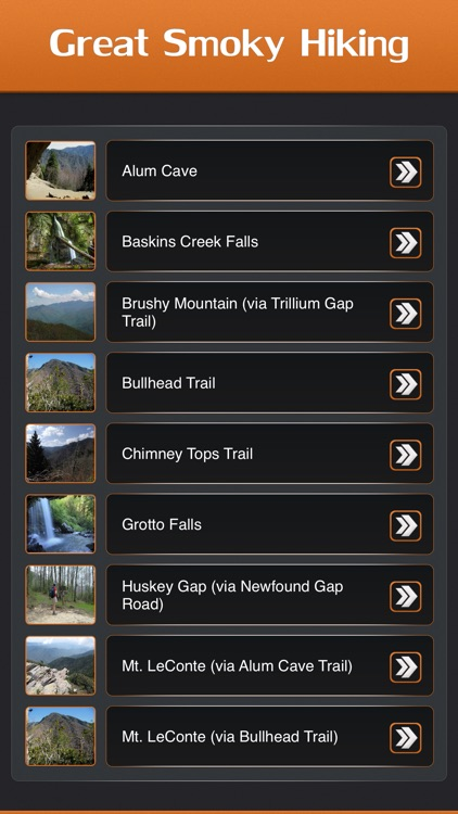 Hiking in Great Smoky Mountain National Park screenshot-1