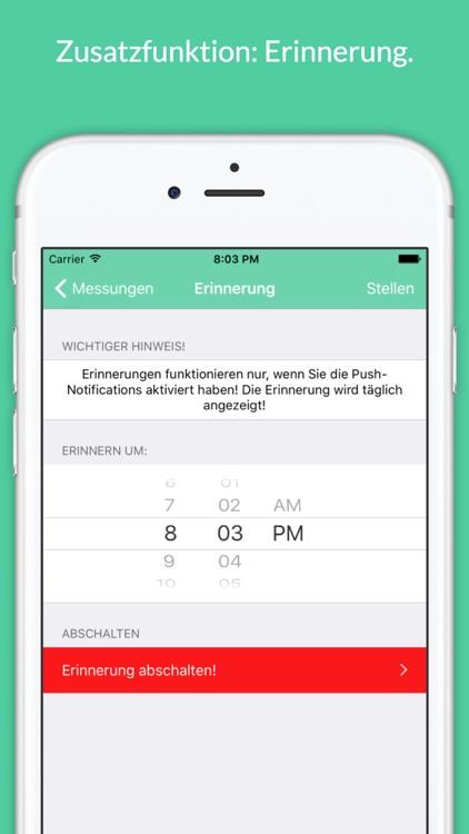 Dein Gewichts-Tagebuch - Gewichtskontrolle & BMI screenshot-3