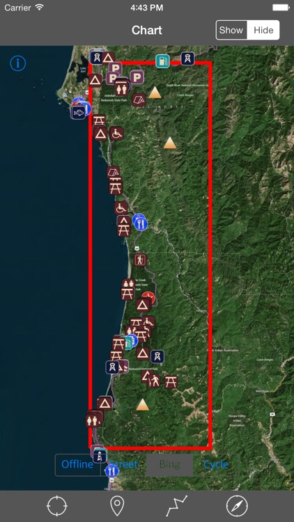 Redwood National Park – GPS Offline Park Map Navigator screenshot-4