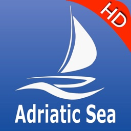 Adriatic Sea GPS Nautical charts pro