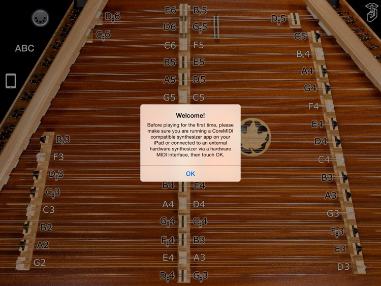 D550 MIDI - Hammered Dulcimer MIDI Controller - Dusty Strings Edition screenshot-3