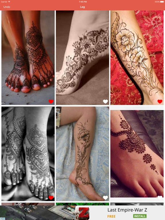 Henna Tattoo Design Ideas App Price Drops