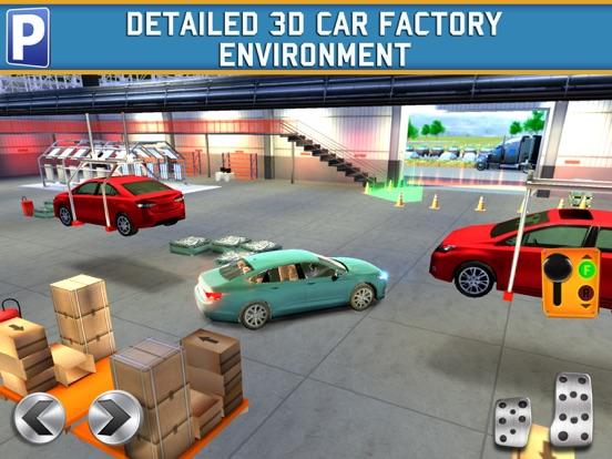 Скачать Car Factory Parking Simulator АвтомобильГонки ИгрыБесплатно