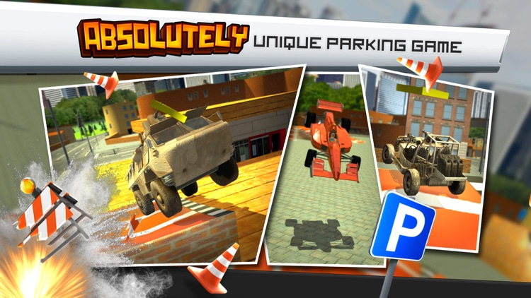 Ridiculous Parking Simulator a Real Crazy Multi Car Driving Racing Game screenshot-4