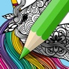 Mindfulness coloring - Anti-stress art therapy for adults (Book 3) - iPhoneアプリ