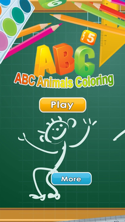ABC Animals Coloring Book Painting Games for Toddler Preschool and ...