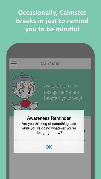 Calmster - Quick Help with Stress, Depression, Anxiety, PTSD, OCD, Panic Attacks and ADHD disorders screenshot-3