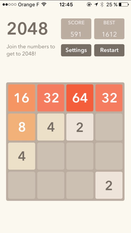 2048 : logic game screenshot-0