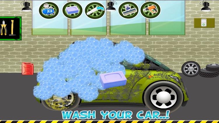 Car Wash Salon cleaning and washing simulator screenshot-3