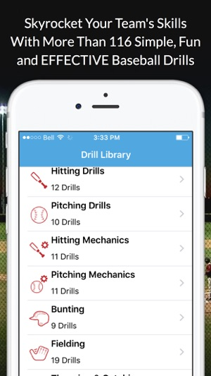 Baseball blueprint on the app store baseball blueprint on the app store malvernweather Image collections