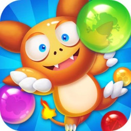 Bubble Pop Joy - match 3 rescue pet game mania