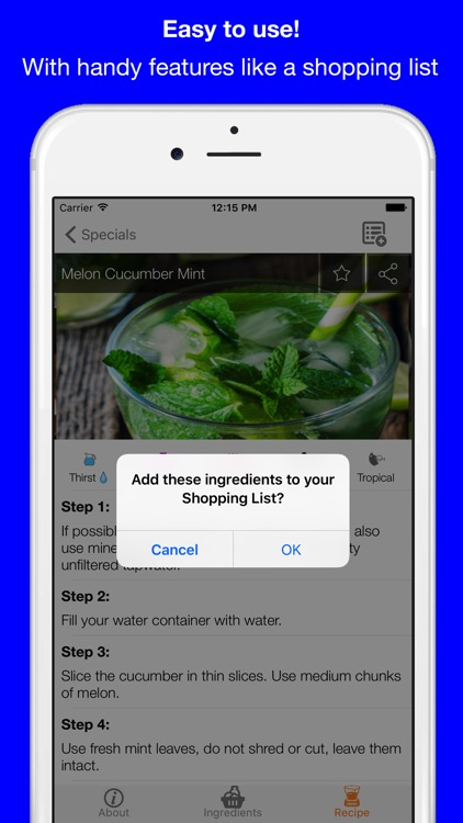 Infused Water - For Ultimate Detox and Weight Loss screenshot-4