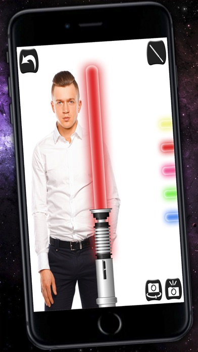 Jedi Lightsaber & Laser sword with sound - Pro screenshot four
