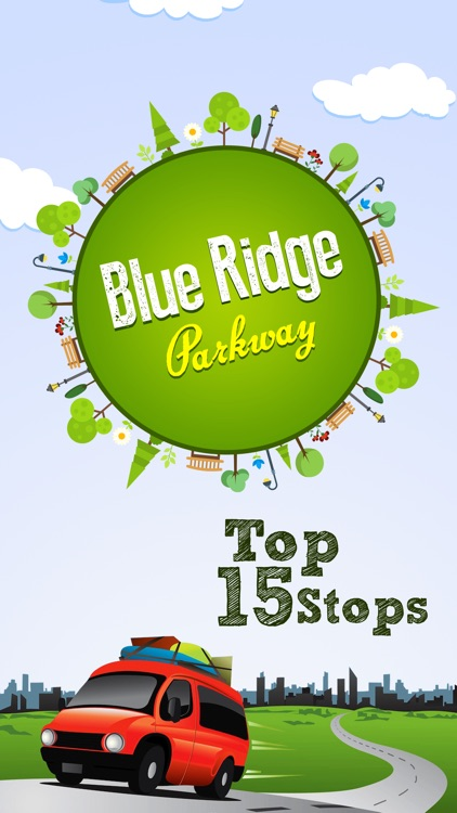 Blue Ridge Parkway Top 15 Stops screenshot-0