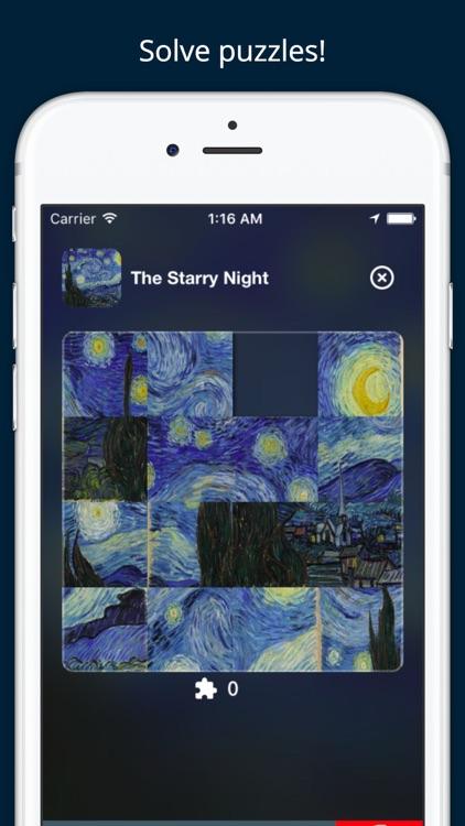 Art Slides: Van Gogh Edition