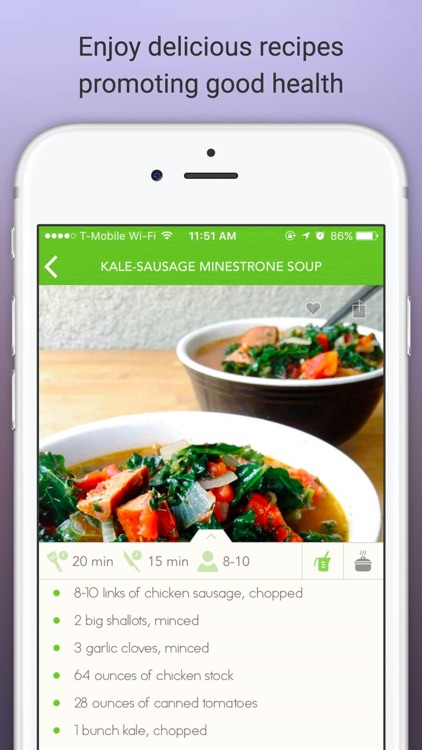 Eat Gluten Free - Delicious Gluten Free Diet Recipes and Meals screenshot-3