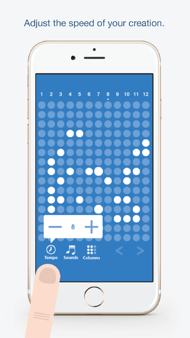 Screen Shot Tones - Fun and easy to use music creation app 2
