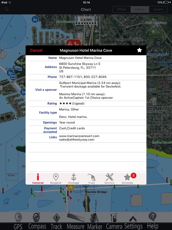 South Carolina GPS Nautical charts pro screenshot-1