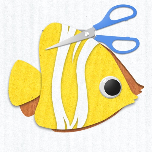 Labo Paper Fish - Make fish crafts with paper and play creative marine games