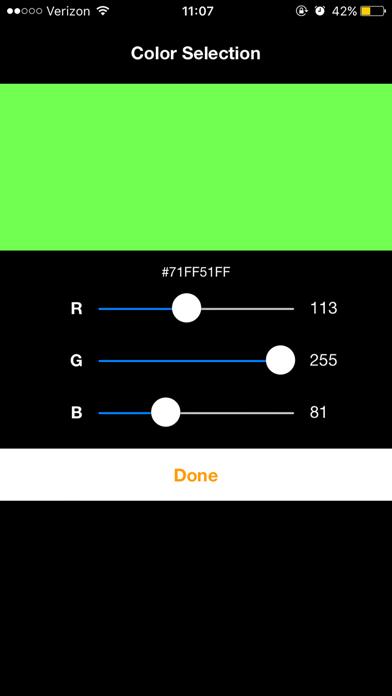 Color Strober screenshot two