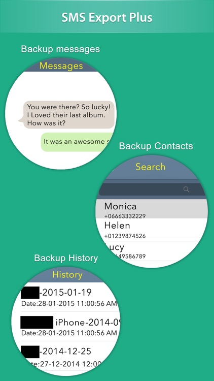 SMS Export Plus - Backup or Save text messages