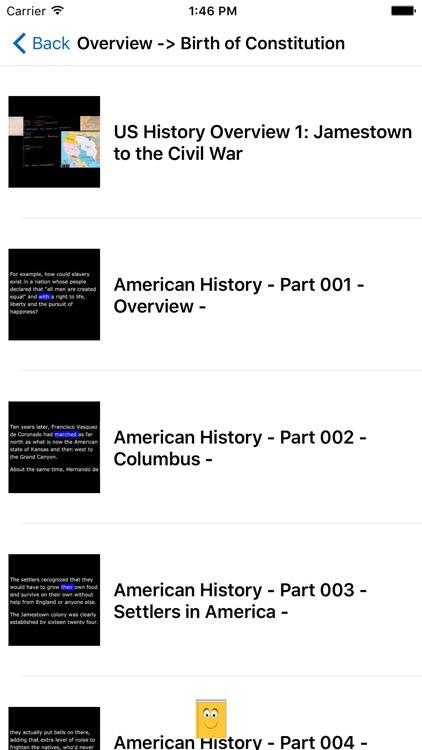 American English - Reading Along American History screenshot-3