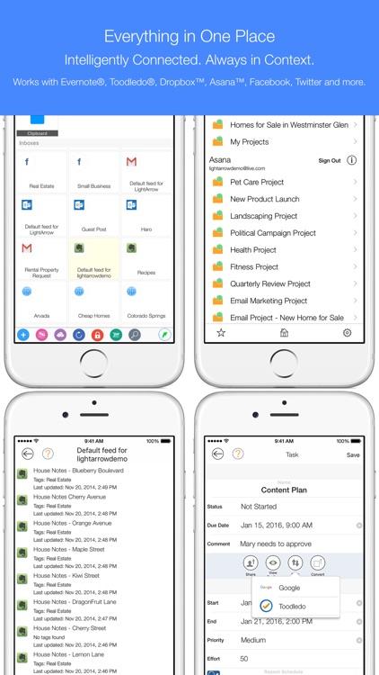 LifeTopix Calendar, Task Lists