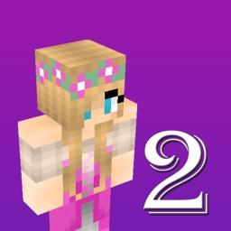 3D Girl Skins 2 for Minecraft Pocket Edition