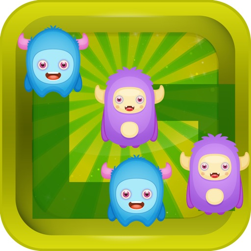 Monsters Move puzzle for kids : - Super high hd game for free iOS App