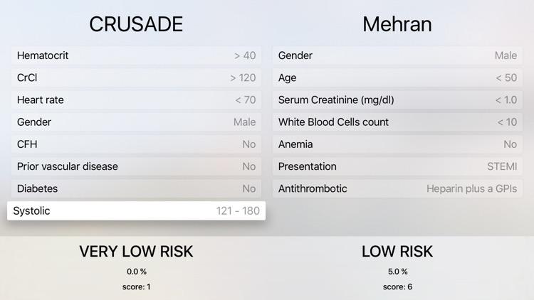 CRUSADE Score Calculator