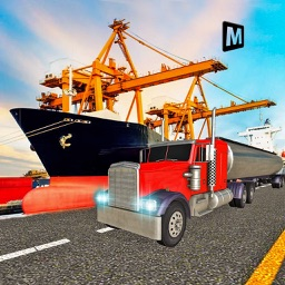 Transport Oil 3D - Cruise Cargo Ship and Truck Simulator