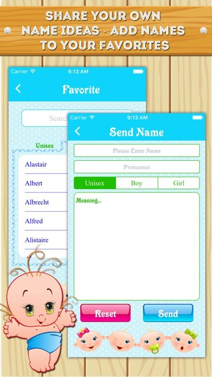 Baby Names - Popular names for boys & girls screenshot-4