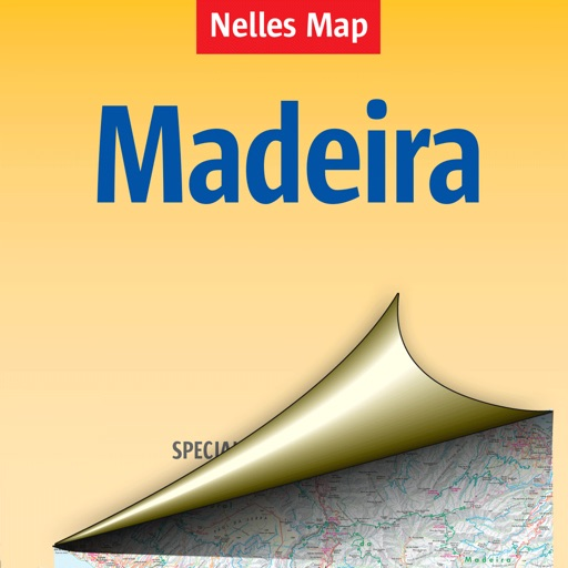 Madeira. Tourist map.