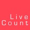 LiveCount app by SumScreen Live and powered by YouTube real time data API tells you subscriber count for any YouTube channel in real time