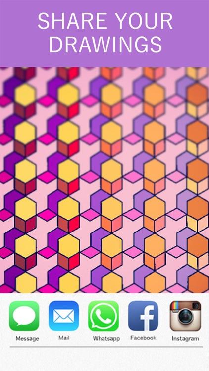 Mandala Coloring Book! screenshot-3