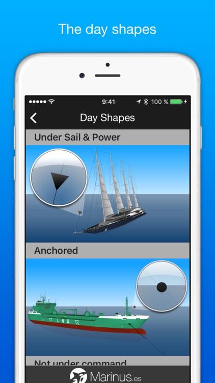 Marinus Lite - boating rules: ColRegs / IRPCS / IALA screenshot-3