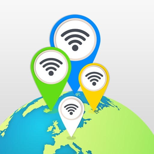 WiFi hotspot Map: connect to known free Wi-Fi