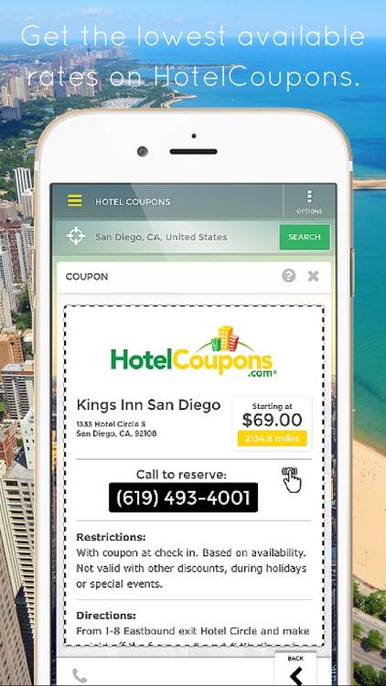 HotelCoupons.com - Best Last Minute Hotel Deals Travel App screenshot-3
