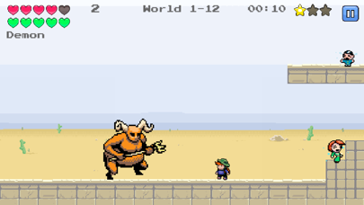 Screenshot from Jump Kid
