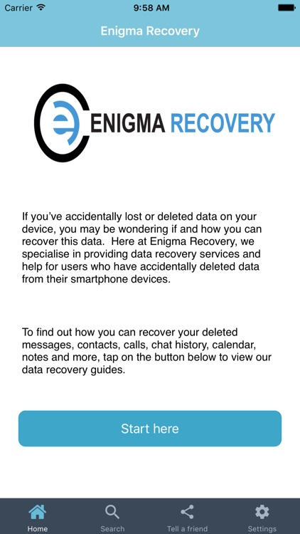 Recover Data screenshot-1