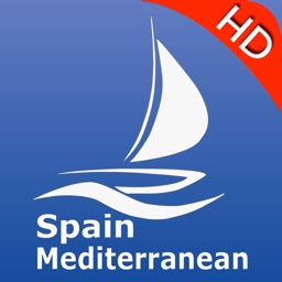 Spain Mediterranean GPS Nautical charts pro