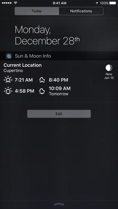 Sun & Moon Calculatorのおすすめ画像4