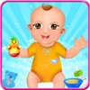Twins Baby Feeding & Caring Game