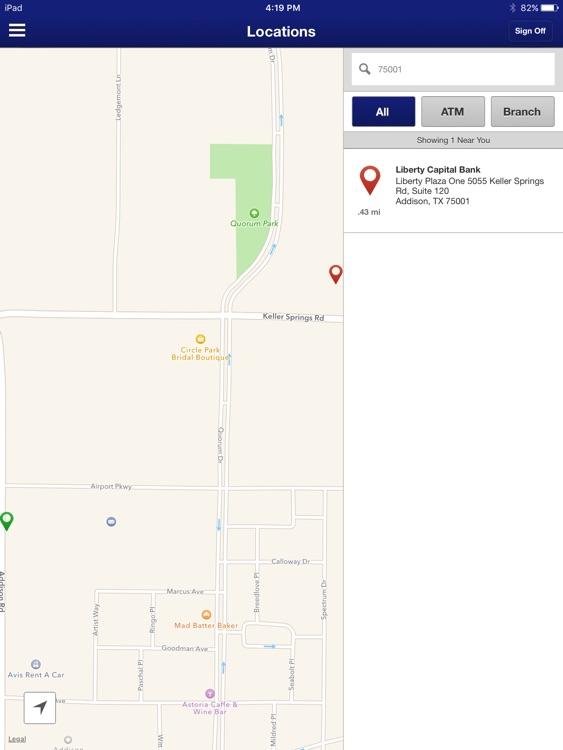 Liberty Capital Bank for iPad screenshot-4