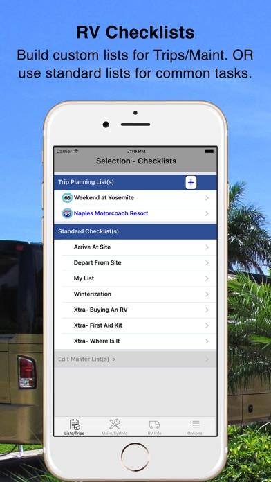 Rv Checklist review screenshots