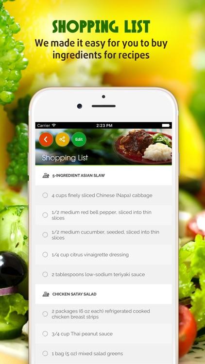 Salad Recipes ~ The Best Easy & Healthy Salad Recipes
