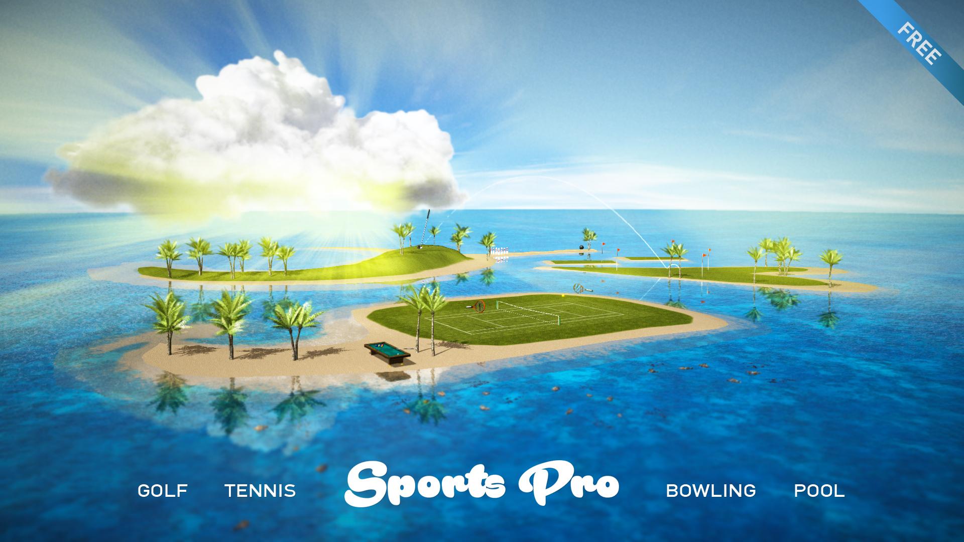 Sports Pro - Golf Tennis Bowling Pool screenshot 1