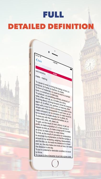 English Dictionary ! High Quality Free online Dictionary screenshot-3
