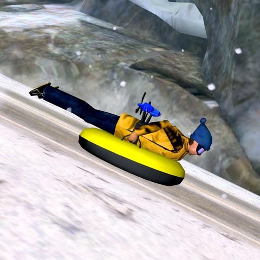 Alpine Road Sledding - eXtreme Crazy Winter Snow Racing Adventure Game PRO